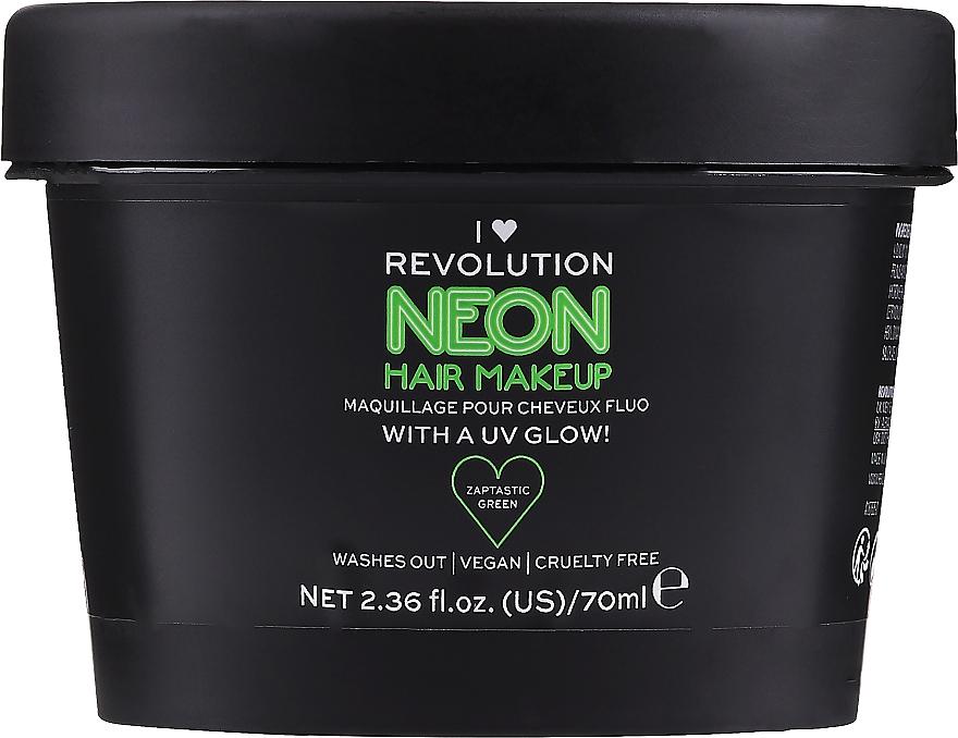 Dočasná farba na vlasy - I Heart Revolution UV Neon Hair Make Up