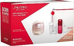 Voňavky, Parfémy, kozmetika Sada - Shiseido Benefiance (cr/50ml + foam/5ml + lot/7ml + conc/10ml + eye/cr/2ml)