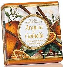 """Voňavky, Parfémy, kozmetika Prírodné mydlo """"Pomaranč a škorica"""" - Saponificio Artigianale Fiorentino Orange & Cinnamon Soap"""