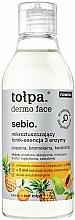 Voňavky, Parfémy, kozmetika Mikroexfoliačná tonizujúca esencia na tvár - Tolpa Dermo Face Essence-Tonic