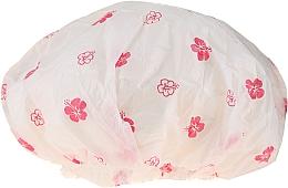 Voňavky, Parfémy, kozmetika Sprchová čiapka, 9298, biele a ružové kvety - Donegal Shower Cap
