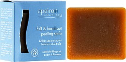 Voňavky, Parfémy, kozmetika Scrub-mydlo na nohy - Apeiron Foot&Callus Exfoliating Soap