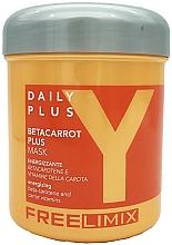 Voňavky, Parfémy, kozmetika Maska s beta karoténom na vlasy - Freelimix Daily Plus Betacarot Plus Mask