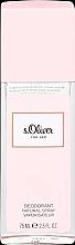 Voňavky, Parfémy, kozmetika S.Oliver For Her - Dezodorant