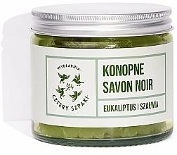 Voňavky, Parfémy, kozmetika Prírodné mydlo Konope - Cztery Szpaki Savon Noir Soap