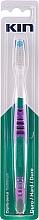 Voňavky, Parfémy, kozmetika Tvrdá zubná kefka, fialová - Kin Hard Toothbrush