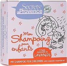 Voňavky, Parfémy, kozmetika Tuhý šampón pre deti - Secrets De Provence My Children Shampoo Lavender Essential Oil