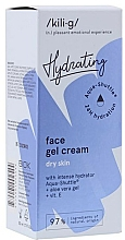 Voňavky, Parfémy, kozmetika Intenzívny hydratačný gél-krém pre suchú pokožku - Kili-g Hydrating Face Gel Cream