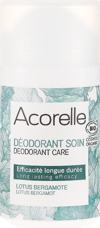 """Osviežujúci valčekový deodorant """"Lotos a bergamot"""" - Acorelle Deodorant Care — Obrázky N1"""