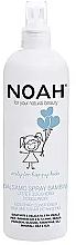Voňavky, Parfémy, kozmetika Detský kondicionér v spreji na vlasy - Noah Kids Spray conditioner milk & sugar detangling