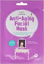 Voňavky, Parfémy, kozmetika Látková anti-age tvárová maska - Cettua Anti-Aging Facial Mask