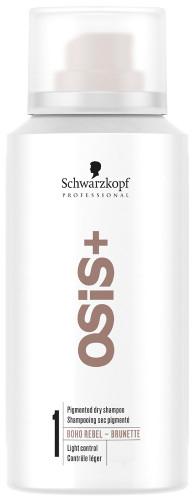 Suchý šampón pre brunetky - Schwarzkopf Professional Osis+ Boho Rebel Brunette