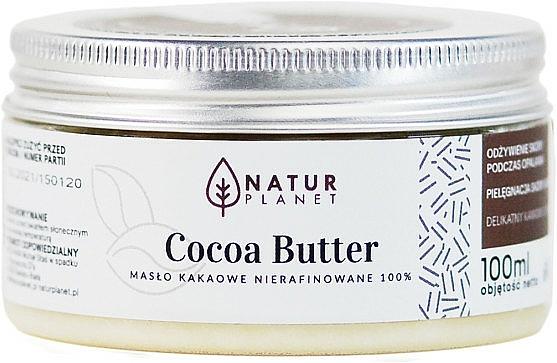 Kakaové maslo, nerafinované - Natur Planet Cocoa Butter