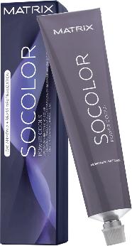 Farba na vlasy s nízkym obsahom amoniaku - Matrix SoColor Power Cools