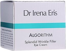 Voňavky, Parfémy, kozmetika Krém pre pleť okolo očí - Dr Irena Eris Algorithm Splendid Wrinkle Filler Eye Cream