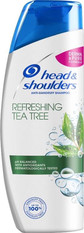 """Šampón proti lupinám """"Čajovník"""" - Head & Shoulders Tea Tree Shampoo — Obrázky N1"""
