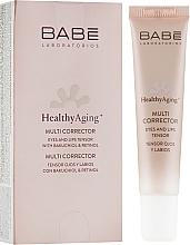Voňavky, Parfémy, kozmetika Multikorektor s protistarnúcim efektom pre pokožku okolo očí a pier - Babe Laboratorios Healthy Aging Multi Corrector