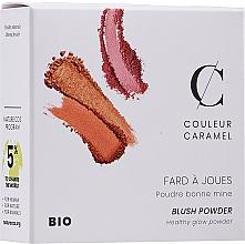 """Voňavky, Parfémy, kozmetika Kompaktná lícenka """"Dokonalosť"""" - Couleur Caramel Blush Powder"""