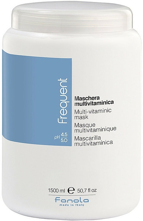 Multivitamínová maska - Fanola Frequent Multi Vitamin Mask — Obrázky N1