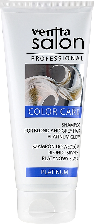 Šampón na vlasy - Venita Salon Professional Platinum Shampoo