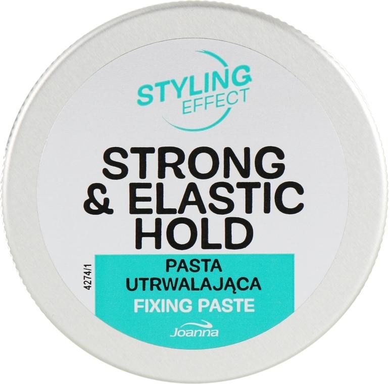 Pasta na modelovanie vlasov s bambuckým maslom - Joanna Styling Effect Strong & Elastic Hold Fixing Paste
