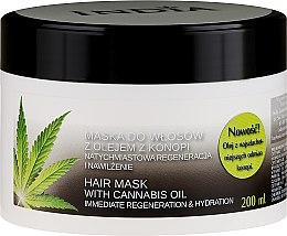 Voňavky, Parfémy, kozmetika Maska na vlasy s konopným olejom - India