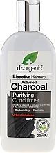 Voňavky, Parfémy, kozmetika Kondicionér na vlasy s aktívnym uhlím - Dr. Organic Bioactive Haircare Activated Charcoal Conditioner