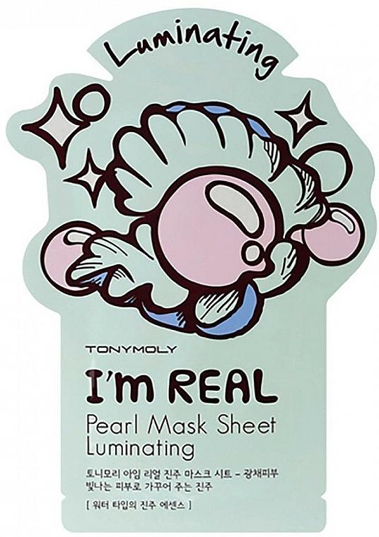 Textilná maska na tvár s perlovým extraktom - Tony Moly I Am Pearl Sheet Mask