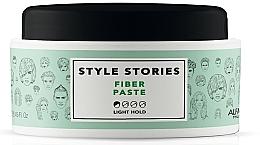 Voňavky, Parfémy, kozmetika Matná pasta na vlasy s ľahkou fixáciou - Alfaparf Milano Style Stories Fiber Paste Light Hold