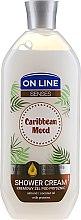 """Voňavky, Parfémy, kozmetika Krémový sprchový gél """"Karibská nálada"""" - On Line Caribbean Mood Shower Cream"""