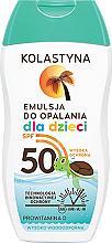Voňavky, Parfémy, kozmetika Telový krém, opaľovací krém, detský - Kolastyna Sun Protection Kids Lotion SPF 50