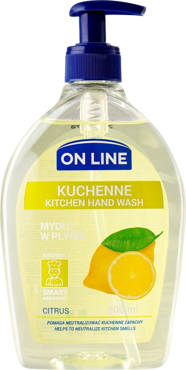 Kuchynské mydlo - On Line Kitchen Hand Wash Citrus Soap