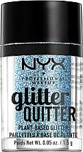 Voňavky, Parfémy, kozmetika Trblietky na tvár a telo - NYX Professional Makeup Glitter Quitter Plant-Based Glitter