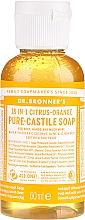 "Voňavky, Parfémy, kozmetika Tekuté mydlo ""Citrus a Pomaranč"" - Dr. Bronner's 18-in-1 Pure Castile Soap Citrus & Orange"