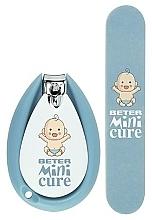 Voňavky, Parfémy, kozmetika Manikúrová sada - Beter Baby Minicure Duo Kit Blue