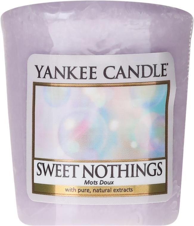 Aromatická sviečka - Yankee Candle Sweet Nothings