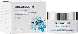 Voňavky, Parfémy, kozmetika Krém na tvár - Organic Life Dermocosmetics Aqua Virtualle Moisturising Night Cream