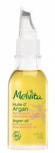 Organický arganový olej - Melvita Organic Nourishing Argan Oil Perfumed With Rose Essential Oil — Obrázky N3