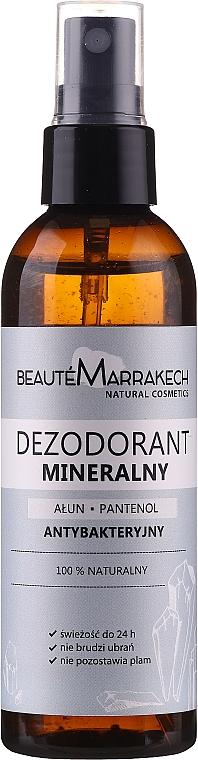 "Telový deodorant ""Panthenol"" - Beaute Marrakech Alum & Panthenol"