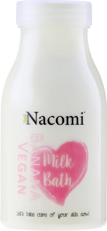 "Kúpeľové mlieko ""Banán"" - Nacomi Milk Bath Banana"