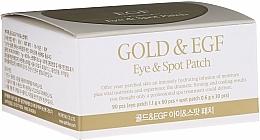 Voňavky, Parfémy, kozmetika Hydrogélové náplasti na oči so zlatom - Petitfee & Koelf Gold&EGF Eye&Spot Patch