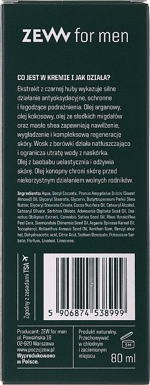 Multifunkčný hydratačný krém na tvár pre mužov - Zew For Men Face Cream — Obrázky N3