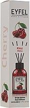 """Voňavky, Parfémy, kozmetika Aromatický difúzor """"Višňa"""" - Eyfel Perfume Reed Diffuser Cherry"""