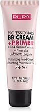Voňavky, Parfémy, kozmetika Hydratačný bb krém a podkladová báza - Pupa Profesional bb Cream + Primer Tone-Cream