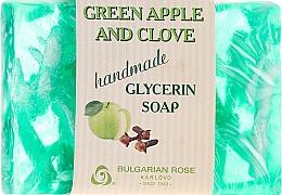 "Voňavky, Parfémy, kozmetika Glycerínové mydlo ""Zelené jablko a karafiát"" - Bulgarian Rose Green Apple & Clove Soap"