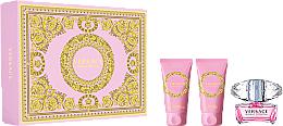 Voňavky, Parfémy, kozmetika Versace Bright Crystal - Sada (edt/50ml + b/l/50ml + sh/gel/50ml)