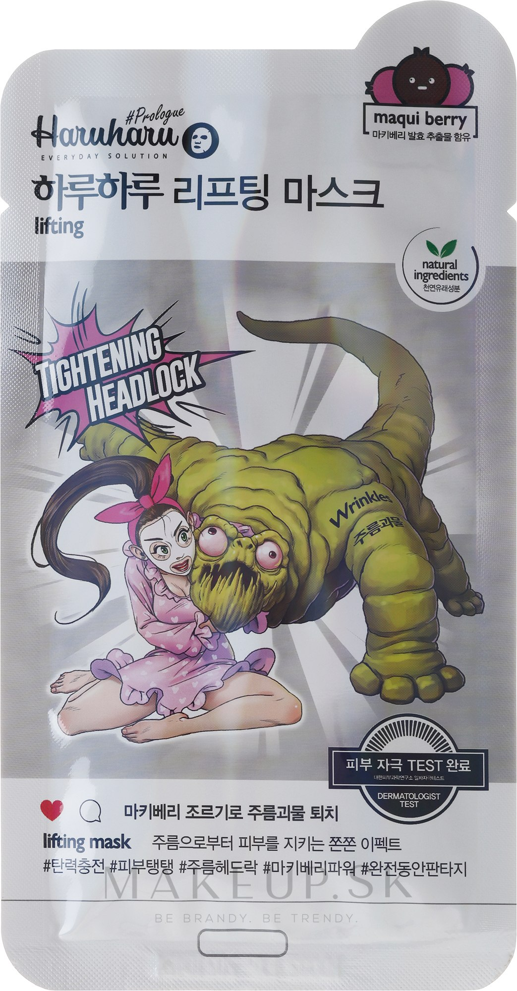 Lifting-maska na tvár - Haruharu Prologue Maqui Berry Lifting Mask — Obrázky 25 ml