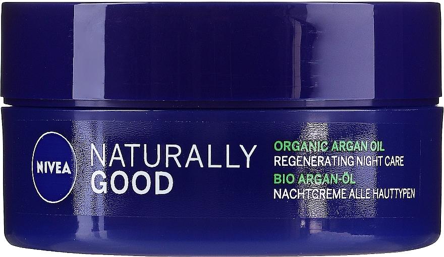 Regeneračný nočný krém pre všetky typy pleti - Nivea Naturally Good Night Regeneration Care