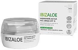 Voňavky, Parfémy, kozmetika Hydratačný krém na mastnú pleť - Ibizaloe Moisturizing Cream SPF15 For Oily Skin