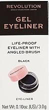 Voňavky, Parfémy, kozmetika Očná linka so štetcom - Makeup Revolution Gel Eyeliner Pot With Brush